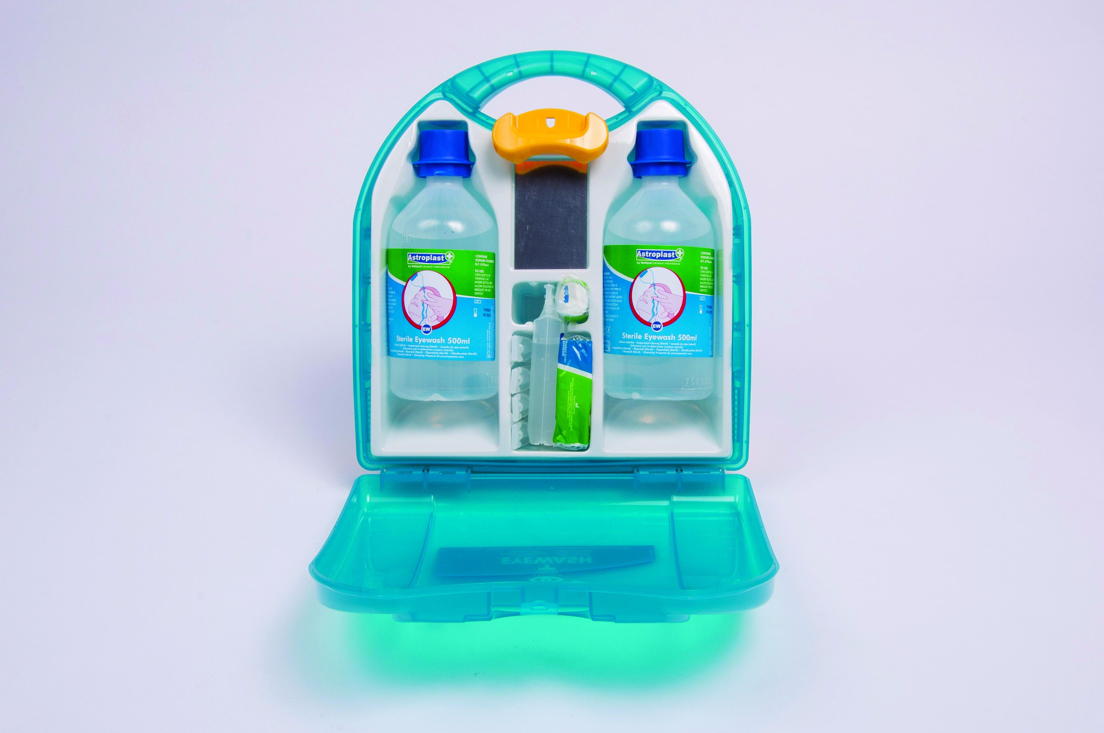 Immerse Supplies emergency eyewash kit contents