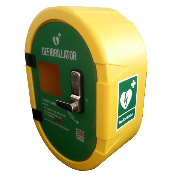 DefibSafe2 Unlocked External AED Cabinet